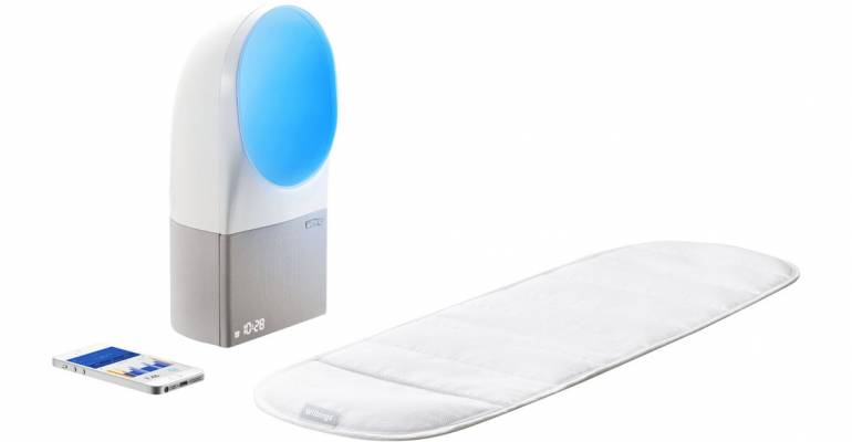 Withings Aura, il gadget perfetto per dormire bene