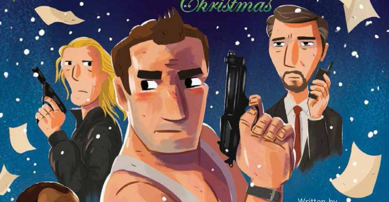 Die Hard, la saga action diventa un libro illustrato