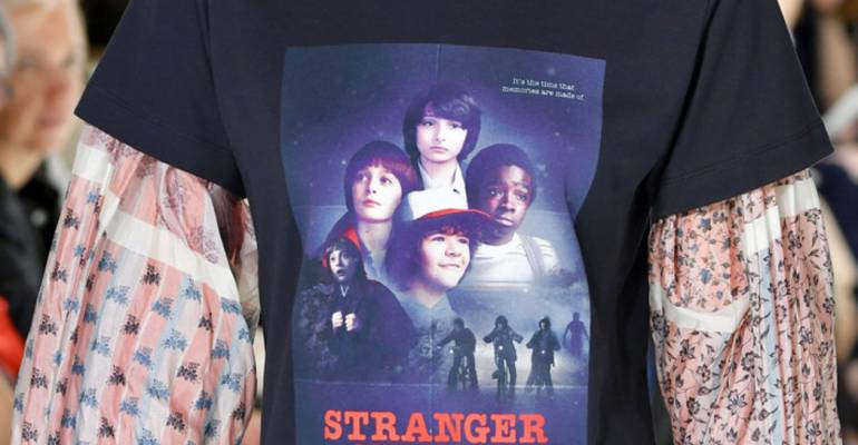 Stranger Things conquista la sfilata di Louis Vuitton a Parigi