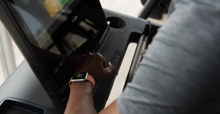 Le macchine Technogym ora sono compatibili con Apple Watch