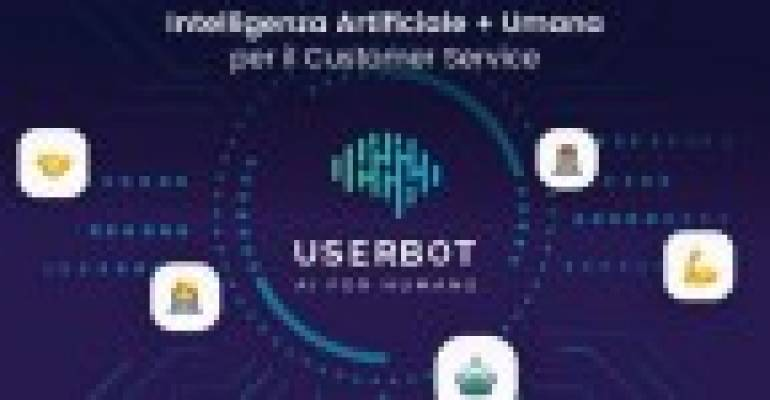 Userbot, intelligenza artificiale per il customer care, lancia round di equity crowdfunding